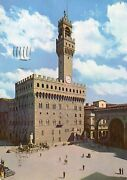 Italy - Patricianand039s Palace - Florence - 1957 Postcard 1400