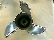Ss310 Mercury Cleaver 14.625x23 Lh 3bl Stainless Steel Propeller