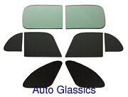 1948 Chrysler Club Coupe Flat Auto Glass Kit New Restoration Replacement Windows