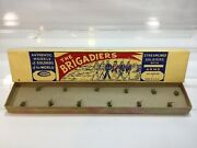 Vintage Comet Authenticast Solid Lead Toy Soldiers Kneeling Riflemen New In Box