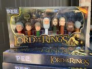 The Lord Of The Rings Pez Collector's Series Limited Edition Set 2011