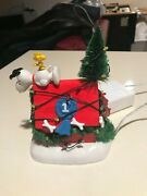 Dept 56 Snoopy Doghouse Lighted