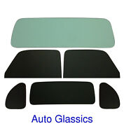 1937 Plymouth P3 Rumble Seat Coupe Classic Auto Glass Kit New Flat Windows
