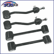New 4 Front And Rear Stabilizer Sway Bar Link Kit For 97-06 Jeep Wrangler
