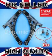 For Ford Transit Mk6 Mk7 Front Lower Suspension Control Arms Wishbones Pair