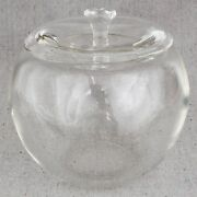 Elsa Peretti And Co Murano Glass New York Apple Ice Bucket Jar Canister