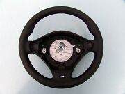 Bmw M Technic Sports Steering Wheel E36 M3 New Nappa Leather Black Stitching