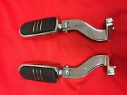Oem Harley Touring Chrome Foot Pegs And Mounts Streamliner Street Glide Road