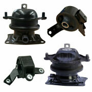 4pc Motor Mount For 2009-2015 Honda Pilot 3.5l Fwd Fast Free Shipping