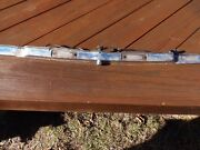 Mercedes-benz Chrome License Plate And Light Strip 3 Pieces 107 Chassis Oe