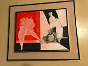 Moshe Givati Oil On Canvas - Picasso Miro Chagall Dali We Love Best Offers
