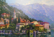 Reflections Of Lake Como By Howard Behrens