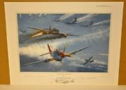 Tuskegee Thunder By Robert Bailey 6 Airmen Signers Remarqued 3/10