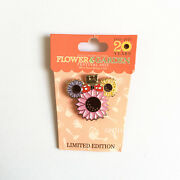 Disney Pins Flower And Garden Festival 2013 20 Years Pin Minnie Mouse Le Epcot