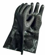 Insulated Flame Resistant Cooking Gloves For Bbq Grill And Kitchen - 17 2 Pack