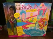 Barbie Puppy Water Park Factory Sealed Box African American Doll Pool Slide Nrfb