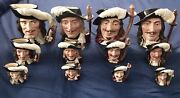 Royal Doulton Character Mugs The Three Musketeers