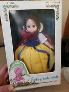 """Vintage 1979 Snow White Fairy Tale Doll 9"""" By Playmates"""