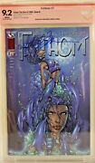Fathom 1 Cbcs 9.2 Signed Michael Turner And David Wohl Cover B Variant Cgc Spawn