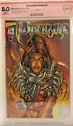 Witchblade 9 Cbcs 8.0 Signed Michael Turner Wizard Ace Edition Exclusive Cgc