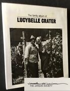 Ralph Eugene Meatyard / Family Album Of Lucybelle Crater Signed By Jonathan 1st