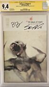 30 Days Of Night 2 Cgc 9.4 Signed Steve Niles And Ben Templesmith Buffy Vampire