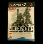 Metal Gear Solid 2 Substance Ps2 Pal New And Sealed