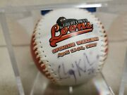 Clayton Kershaw Autographed Baseball Circa 2007 Great Lakes Loons