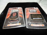 Star Wars Episode 1 And Darth Vader Collector Lapel Pins Applause Pinback