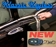 1955-57 Gm Full Size Car 2 Dr. Power Door Locks And Keyless Entry Kit New Remotes