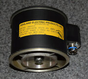 Ashland Electric 154510-01 Aircraft Vaneaxial Fan V4s117k-5a 200v 400hz 3phase