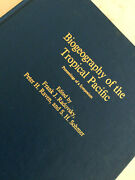 Biogeography Of The Tropical Pacific Radovsky Bishop Museum No. 72 Hc Book
