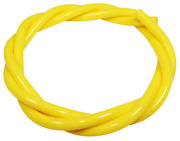 Yellow Silicone Vacuum Vac Hose Pipe 3mm 4mm 5mm 6mm Water Overflow Air