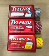 Tylenol Extra Strength Pain And Fever Reducer Acetaminophen 500mg Choose Size/type