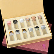 Glass Vial Jars Containers Bottle Gift Set Cork Stopper Test Tube Craft Storage