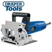 Draper 83611 900w Biscuit Joiner Jointer Wood Work Saw Cutter In Case