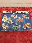 Melissa And Doug Disney Mickey Mouse And Friends Wooden Sound Puzzle 8pc New Other