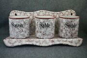 Laundry Rack - Soap Sand Soda - French Enamelware Red And White Graniteware