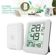Digital Wireless Indoor Outdoor Thermo-hygrometer Thermometer Humidity Meter 1