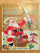 Vintage Rare 1951 Gustaf Tenggrenand039s The Night Before Christmas Big Golden Book