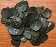 Lot Of 30 Ancient Medieval Cup Coins From Byzantine And Latin Empires Very Rare