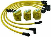 3 Ignition Coils And 10mm Performance Spark Plug Wires For 3.8 Buick Pontiac Chevy