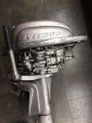 Evinrude 1950's Vintage Boat Motor For Parts Or Repair Not Working
