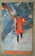 Rare/vintage Nike Poster - Ron Harper - Ohio Flyer Cleveland Cavaliers 1980's