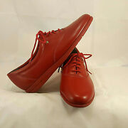Easy Spirit Womens Red Anti Gravity Motions Oxford Lace Up Size 6b