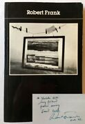 Robert Frank Photofile / Signed 1st Edition 1991