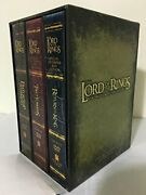 The Lord Of The Rings Movie Trilogy Dvd In Extended Edition W/ Behind The Scenes