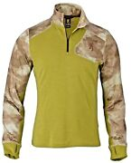 Browning Hell's Canyon Speed Mhs 1/4 Zip Pullover Atacs Arid Urban Size Medium