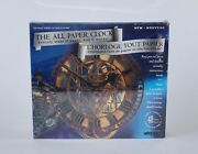 New Factory Sealed Wrebbit The All Paper Clock The Peace Tower 3d Model Kit