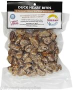 Fresh Is Best Freeze Dried Raw Whole Duck Heart Treats For Dogs/cats 3oz -3 Bags